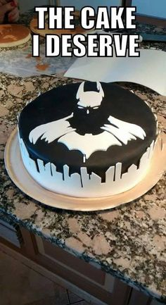 More Creative Cakes That Are Too Cool To Eat Coolest Batman cake ever.gotta make this for someoneCoolest Batman cake ever.gotta make this for someone Beautiful Cakes, Amazing Cakes, Cake Cookies, Cupcake Cakes, Birthday Cake For Boyfriend, Birthday Cake For Brother, Boyfriend Cake, Batman Cakes, Batman Grooms Cake