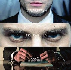 Image shared by Lou🌻. Find images and videos about fifty shades of grey, Jamie Dornan and christian grey on We Heart It - the app to get lost in what you love. 50 Shades Trilogy, Fifty Shades Series, Fifty Shades Movie, Fifty Shades Darker, Fifty Shades Of Grey, Christian Grey, Jamie Dornan, Fifty Shades Quotes, Grey Quotes