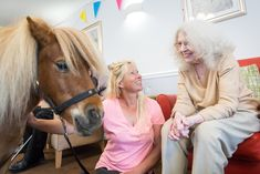 A galloping birthday surprise for Jacqueline - Springhill Care Group Lancashire