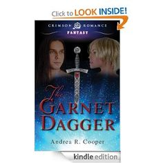 The Garnet Dagger by Andrea R. Cooper   Vampirism, the all too familiar curse afflicting humans. What, though, happens when this soul staining blasphemy is wrought on a creature of light and magic? @Andrea Cooper