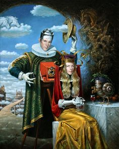 Michael Cheval ''Golden Age of Thomas Barbey''