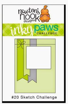 Handmade Creations by Stephanie: Newton's Nook Inky Paws Challenge