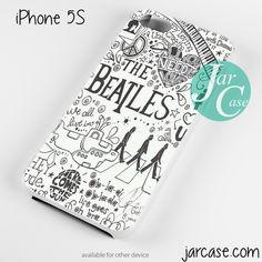 The Beatles lyrics Cool Phone case for iPhone 4/4s/5/5c/5s/6/6 plus