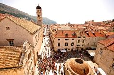 Old Town Dubrovnik- stay here, it's close to everything.  Do boat trips to the islands