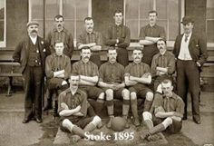 STOKE CITY FOOTBALL CLUB, 1895.