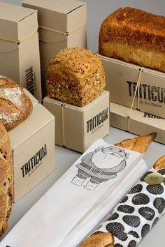 Le studio catalan Lo Siento a récemment complété son travail sur l'identité et les packagings de la boulangerie Triticum.