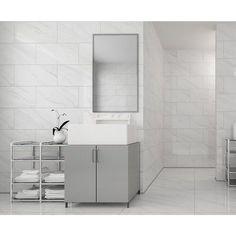 Carrara Gris Ceramic Wall Tile X In Sq Ft Coverage - Carrara gris porcelain tile