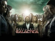 Battlestar Galactica.  I'm gonna be honest I did not want to like this but found myself instantly hooked on it.