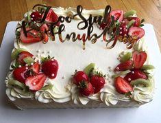 Deco Cupcake Cakes Fresh Fruit Cake Buttercream Fondant Easy Decorating