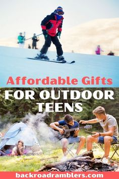 Looking for an awesome, but affordable gift for outdoorsy teens? Every teenager who loves the outdoors will also love this awesome, but affordable gifts! Affordable gifts for teens | affordable gifts for teenagers | gifts for outdoorsy people | gifts for outdoorsy teens | camping gifts for teens | hiking gifts for teens | outdoor gifts for teenagers | outdoor gifts for teens Hiking Gifts, Camping Gifts, Travel Gifts, Camping Ideas, Camping Hacks, What To Pack For Vacation, Must Have Travel Accessories, Camping With Teens, Every Teenagers