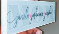 Learn how to etch glass for beautiful gifts and home decor projects. Find out how your Cricut to create stencils for glass etching. Cricut Stencils, Cricut Vinyl, Cricut Monogram, Tile Projects, Vinyl Projects, Crafty Projects, Vinyl On Glass, Silhouette Cameo Tutorials, Silhouette Projects