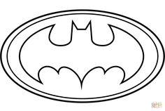 Molde do Batman para Imprimir: Feltro e EVA