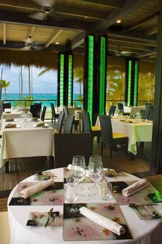 Hotel Riu Palace Macao 'Krystal' restaurant with beach views - Adults Only  Hotel