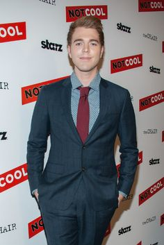 YouTuber Shane Dawson at the premiere of Starz Digital Media's Not Cool in September 2014...