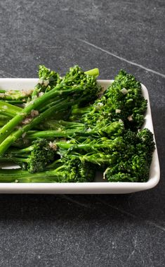 Pan-Steamed Broccolini. By slicing broccolini stalks based on their varying widths, this recipe ensures that each piece is perfectly tender. With a few simple elements like butter, shallot, and thyme, we let the vegetable itself shine.