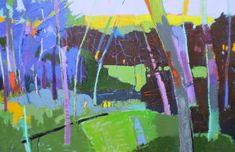 love this artist  Ridge at Papa's Farm  48x72  $6900