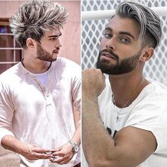 "Páči sa mi to: 3,380, komentáre: 51 – Hair Mens Styles 2017 ✂️ (@hairmenstyles) na Instagrame: ""Left or right ? ——————————————— • Wanna see more posts like this ? • FOLLOW us @hairmenstyles for…"""