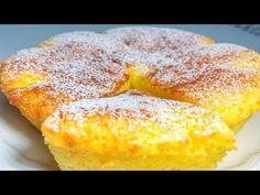 Prăjitura care m-a cucerit din copilărie! Prăjitură rusească - budincă din brânză Olesea Slavinski - YouTube Egg Sandwiches, Exotic Food, Coffee Cake, Let Them Eat Cake, Cake Pops, Cornbread, Baking Recipes, Breakfast Recipes, Ricotta