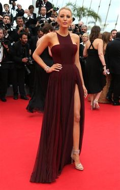 Blake Lively is stunning at the Cannes Film Festival. See more hot stars on Wonderwall: http://on-msn.com/1nPAx7K