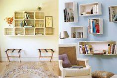 Caixotes de madeira utilizados em feiras livres ou para armazenar vinhos, são tão versáteis que com eles podem ser criados móveis dignos de revistas de decoração. Veja ideias!