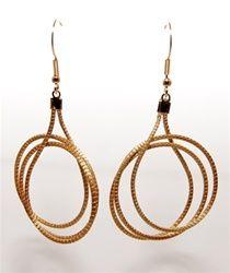 Golden Grass Earrings - Eco-Fashion, Eco-Friendly jewelry item handmade in Brazil