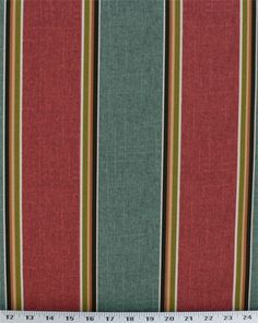 Lombard Stripe Jewel - Indoor / Outdoor | Online Discount Drapery Fabrics and Upholstery Fabric Superstore!