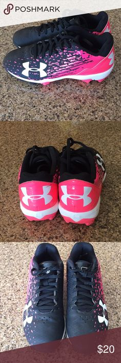 Under Armour youth baseball cleats 1.5Y Good used condition.see all pictures. Under Armour Shoes