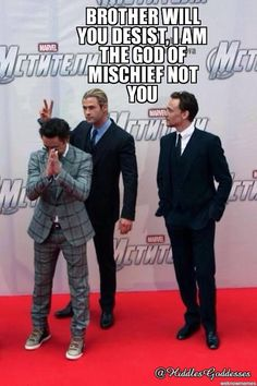 Stop trying to steal *my* role, Thor! Rotfl....  Too much awesomeness!