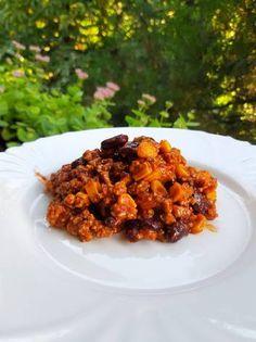 Chilis bab Chilis, Risotto, Meat, Chicken, Ethnic Recipes, Food, Chili, Essen, Chile