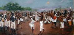 """T Ellis Fine Art  - Congo Square-New Orleans, $99.00 (http://www.tellisfineart.com/congo-square-new-orleans/) """"Congo Square-New Orleans"""", my painting, depicting the rich history of New Orleans slaves and Free People of Color in Louisiana. During the 18th century, under French, the """"Black Code"""" heavily influenced the lives of slaves."""