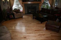 Third Grade Natural Maple floors - Beautiful.  Hatton's Hardwood Floors Inc.