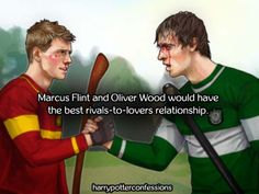 Marcus Flint and Oliver Wood would have the best...