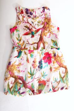 Tropical Balloon Dress for Girls & Toddlers by Bubale1 on Etsy