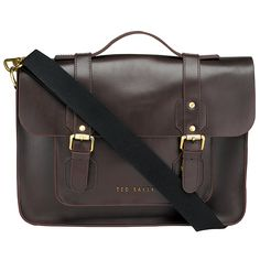 Ted Baker Skolday Leather Satchel. Would've loved it if this had been my first school bag