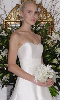 legends romona keveza fall 2016 classic elegant wedding dress strapless a line ball gown silk shantung taffeta zoom view l6132