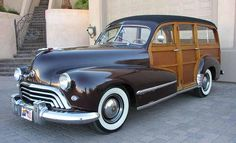1948 Oldsmobile Deluxe station wagon