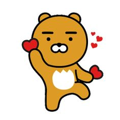 Buy 'Kakao Friends Ryan' by as a Sticker, iPhone Case, Case/Skin for Samsung Galaxy, Transparent Sticker, or Glossy Sticker Kawaii Wallpaper, Iphone Wallpaper, Ryan Bear, Kakao Ryan, Sentimental Circus, Bear Gif, Kakao Friends, Friends Wallpaper, Presents For Friends