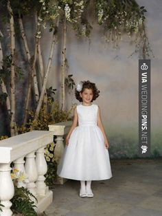 Love this - Ball gown with natural waist organza dress for flower girl   CHECK OUT MORE GREAT FLOWER GIRL AND RING BEARER PHOTOS AND IDEAS AT WEDDINGPINS.NET   #weddings #wedding #flowergirl #flowergirls #rings #weddingring #ringbearer #ringbearers #weddingphotographer #bachelorparty #events #forweddings #fairytalewedding #fairytaleweddings #romance