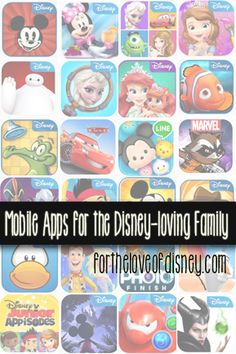 We've rounded up some of the best Mobile Apps for the Disney family on iOS, Windows, Kindle, and Android devices. Enjoy!