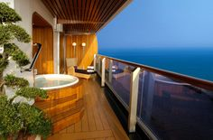 10 Decadent Cruise Ship Suites : Condé Nast Traveler, Holland America Line Holland America Line, Holland America Cruises, Top Cruise, Cruise Travel, Cruise Vacation, Dream Vacations, Honeymoon Cruises, Disney Cruise, Vacation Rentals