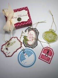 Stampin' Up Tags Til Christmas Gift Set