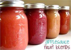 Applesauce fruit blends.. these look soo good :)