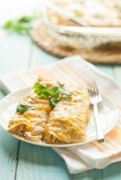 Gluten-Free Chicken Enchiladas Recipe gluten free chicken enchiladas