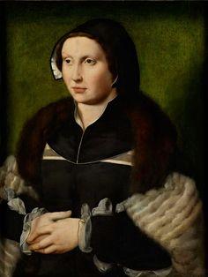 Joos van Cleve (c.1485-1540/1541) — Portrait of a Lady, c.1530 (1536×2046)