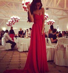 #red #dress prom