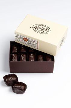 Nordstrom Makers Chocolate Dark Chocolate Sea Salt Caramels (20 Pieces)