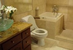 Takagi -TP Soaking Tub, tiny bathroom w/ shower