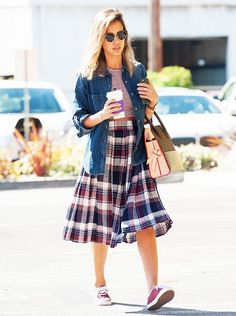 5 Celebrity Secrets to Developing Your Style Uniform via @WhoWhatWear  This is a totally retro look!!