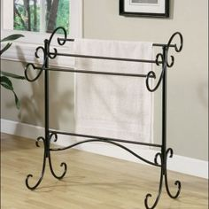 The must have Decorative Towel Racks For Bathrooms & Spotless white towel & Brushed brass towel rack material