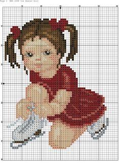 Cross Stitch Christmas Stockings, Xmas Cross Stitch, Cross Stitch For Kids, Cross Stitch Borders, Cross Stitch Flowers, Cross Stitch Charts, Cross Stitch Designs, Cross Stitching, Cross Stitch Embroidery